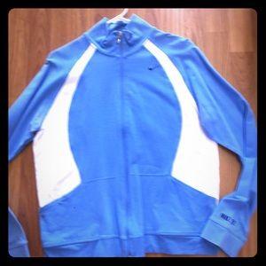 Nike cotton zip up jacket
